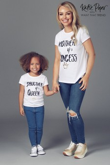 Want That Trend Mummy And Me Slogan T-Shirt