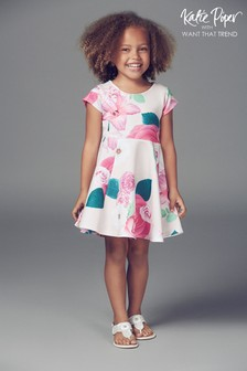 Want That Trend Mummy And Me Children's Floral Skater Dress