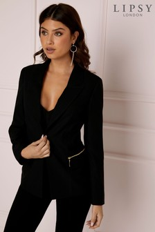 Lipsy Zip Pocket Blazer