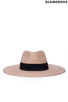 Glamorous Straw Beach Hat
