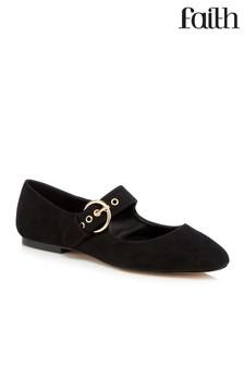 Faith Flat Mary Jane Shoes