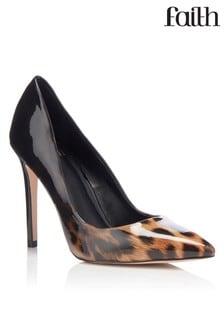 נעלים שטוחות מנומרות אומברה של Faith
