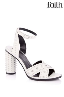 Faith Stud Cross Over Sandals