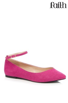 Faith Wide Fit Pointed Shoes
