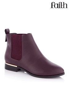 Faith Wide Fit Chelsea Boots