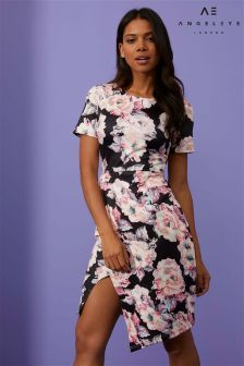 Angeleye Floral Print Pencil Dress
