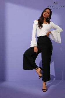 Angeleye Frill Waist Trousers