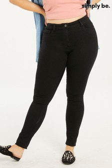 Simply Be Lucy High Waist Super Soft Skinny Jeans
