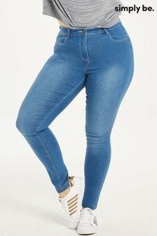 Simply Be Lucy Superweiche Skinny-Jeans mit hohem Bund