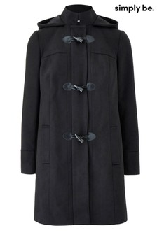 Simply Be Core Duffle Coat