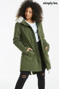 Simply Be Parka Jacket
