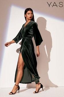 Y.A.S Velvet Dress