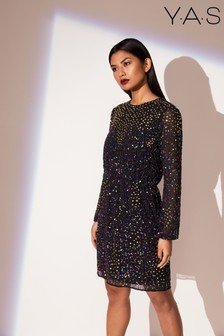 Y.A.S Kleid mit Pailletten
