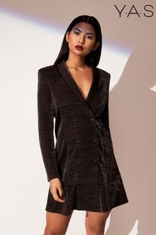 Y.A.S Long Sleeve Blazer Dress