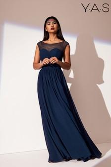 Y.A.S Kleid aus Mesh