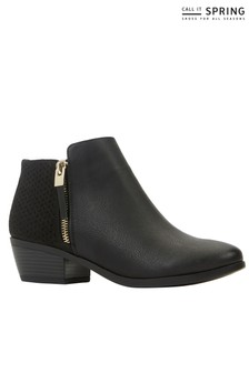Call It Spring Ankle Boot With Zip