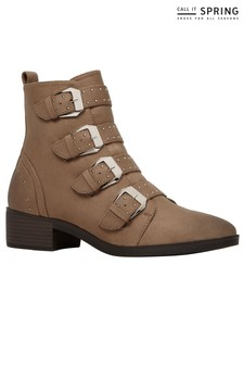 Call It Spring Buckle Ankle Boot