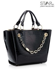 Star By Julien Macdonald Croc Chain Day Bag