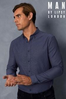 Man By Lipsy Dobby Spot Shirt