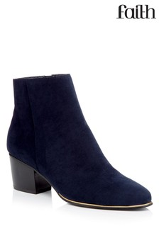 Faith Toe Detail Ankle Boots
