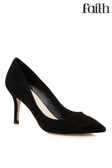 Faith Kitten Heel Court Shoes