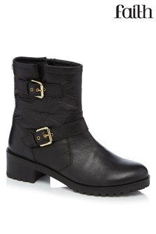 Faith Biker Boots