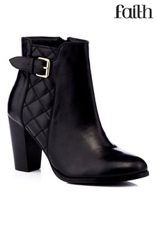 Faith High Heel Ankle Boots
