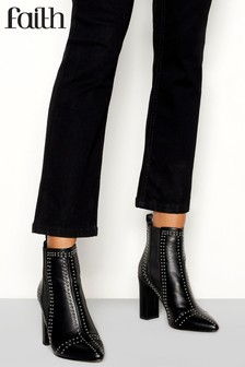 Faith Studded Chelsea Boots