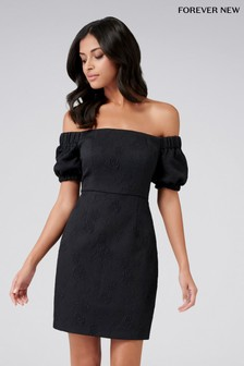Forever New Puff Sleeve Dress