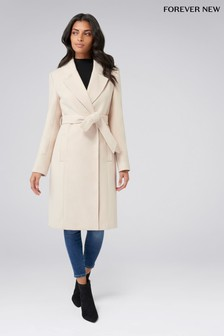 Forever New Wrap Coat