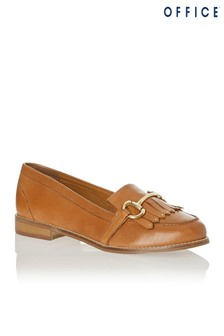 Office Fringed Snaffle Loafer