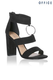 Office O Ring Block Heel Sandals
