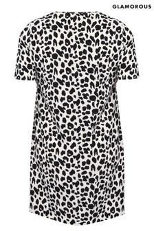 Glamorous Curve Leopard Print Dress