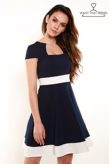 Want That Trend Skater Dress