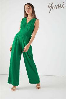 Yumi Tie Back Sleeveless Jumpsuit