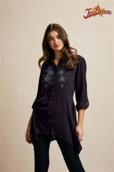 Joe Browns Crepe Waterfall Shirt
