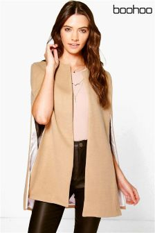 Boohoo Long Sleeve Cape