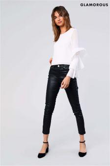 Glamorous Skinny Jean Coated Denim