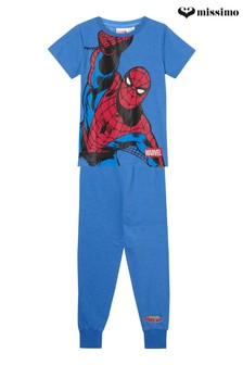 MIssimo NIghtwear Spiderman T-Shirt and Long Leg PJ Set