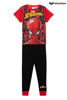 MIssimo Nightwear Spiderman T-Shirt Long Leg PJ Set