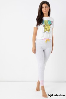 Missimo Little Miss Sunshine Pyjama mit Stretch-Leggings