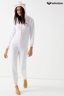 Missimo Nightwear Aristocat Marie Fleece Onesie