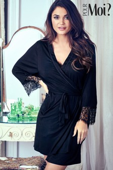 Pour Moi Lace Wrap Night Robe