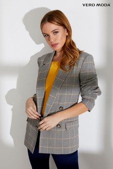 Vero Moda Petite Long Sleeves Double Breasted Blazer
