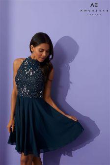Angeleye Kurzes, verziertes Kleid