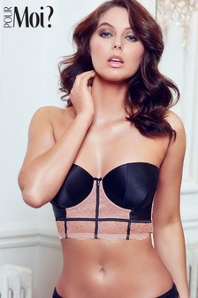 Pour Moi Dusk Strapless Longline Underwired Bra