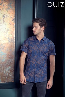Quizman Floral Print Shirt