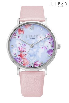 Lipsy Floral Print Watch