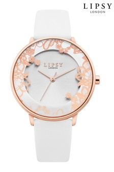 Lipsy Floral Mineral Watch