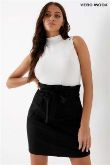 Vero Moda Petite Paperbag Short Skirt